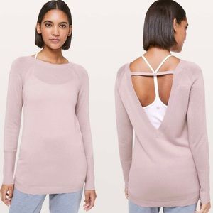 Lululemon Unity Drop Back Sweater